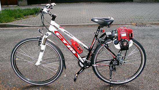 Model: Motokolo CTM BORA 1.0 HONDA GX35.