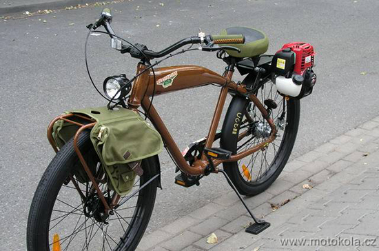 Model: Motokolo FELT DESTINATION HONDA GX35.