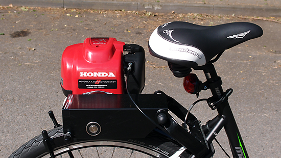 Model: Motokolo SUNDANCE MALAGA 8 HONDA GX35.