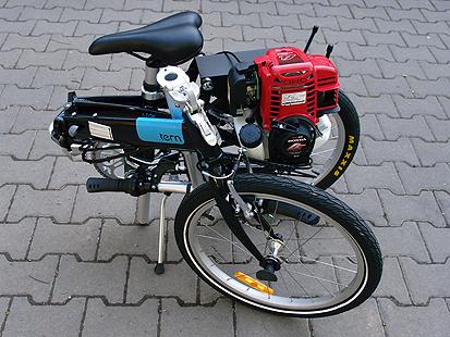 Model: Motokolo TERN LINK C7 HONDA GX35.